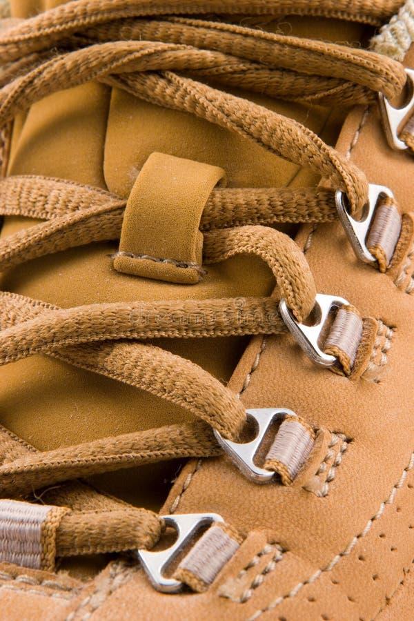 Att gå skor arkivfoton