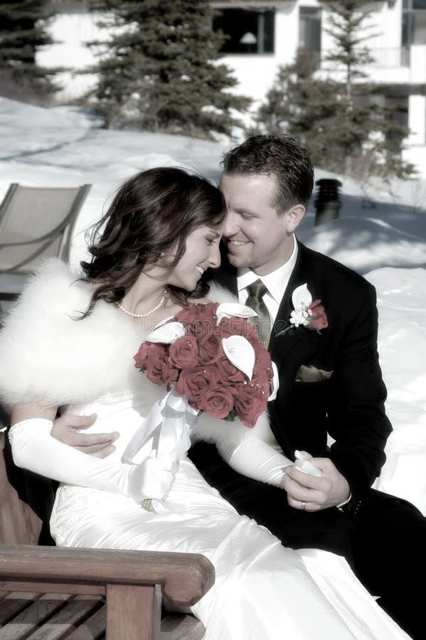 att gifta sig nytt royaltyfri foto