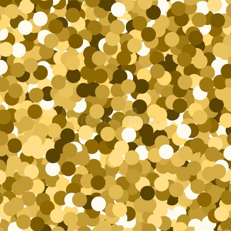 Att glöda blänker illustrationen för bakgrund för stjärnor för suddighet för gnistrandet för effekt för bokehvektorljus den glöda vektor illustrationer
