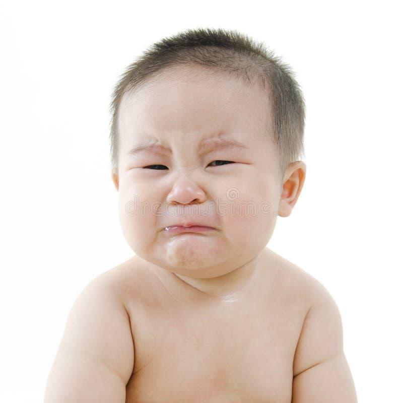Att gråta behandla som ett barn fotografering för bildbyråer