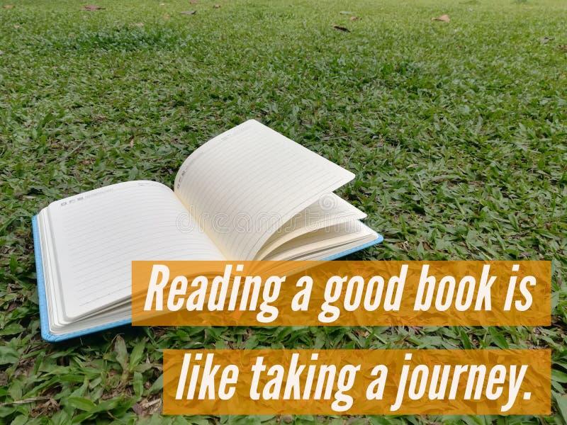 Att läsa Bibeln är som att ta en resa arkivfoto