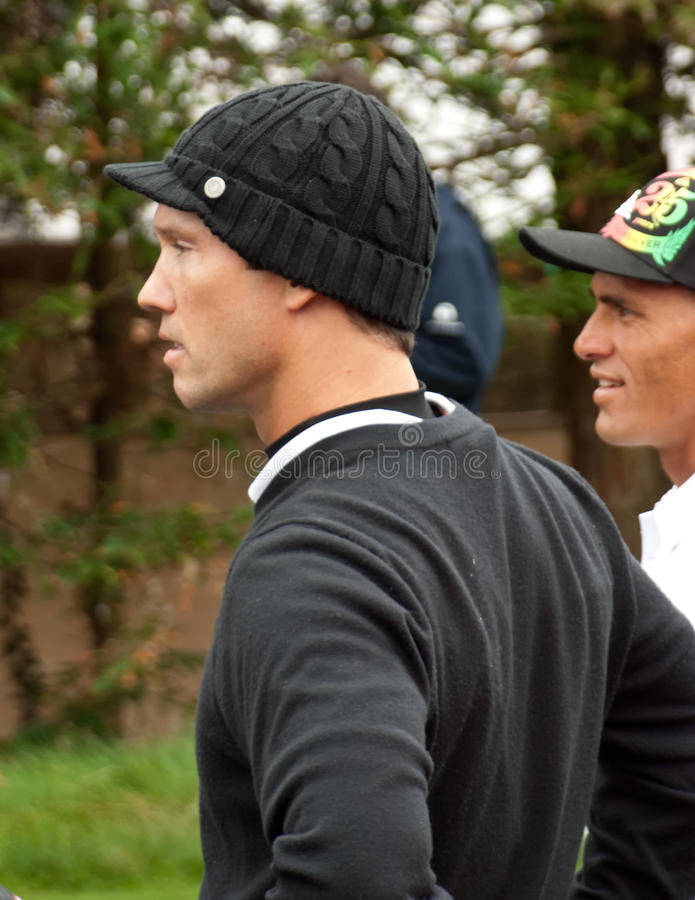 ATT Pro Am. Actor Jeffrey Donovan at the AT&T Pebble Beach Pro Am stock image