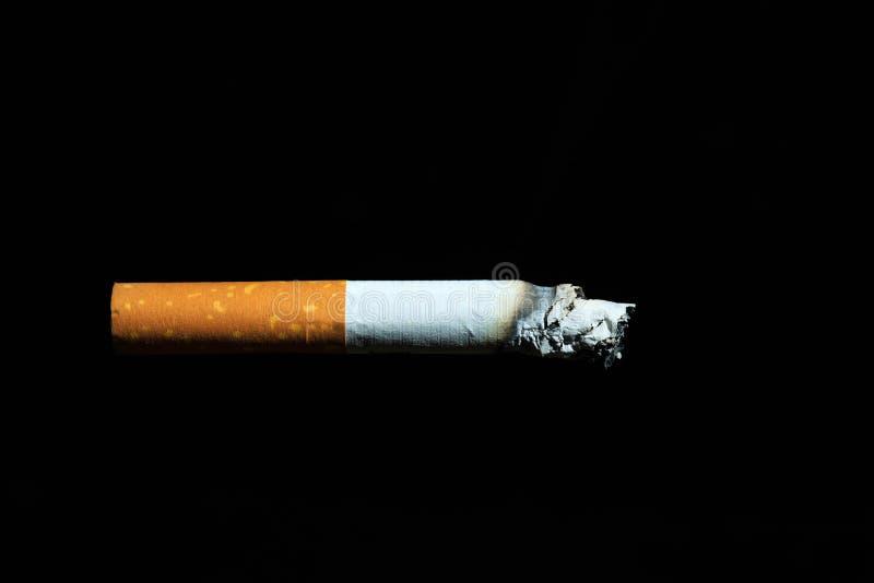 Att röka är en ledande orsak av cancer och död royaltyfri foto