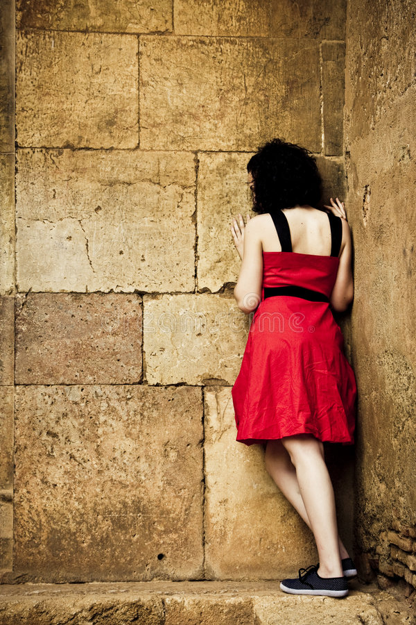 att vända mot stonewall kvinnan arkivbilder