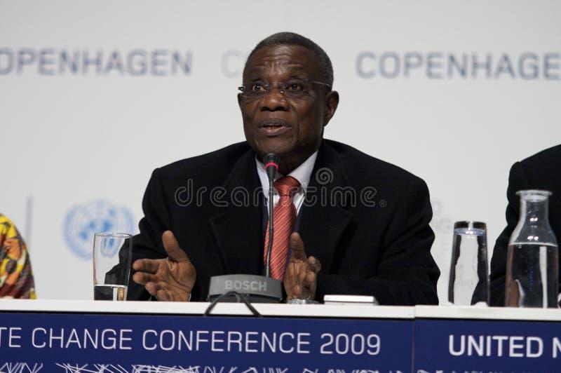 atta Гана john филирует президента стоковые изображения rf