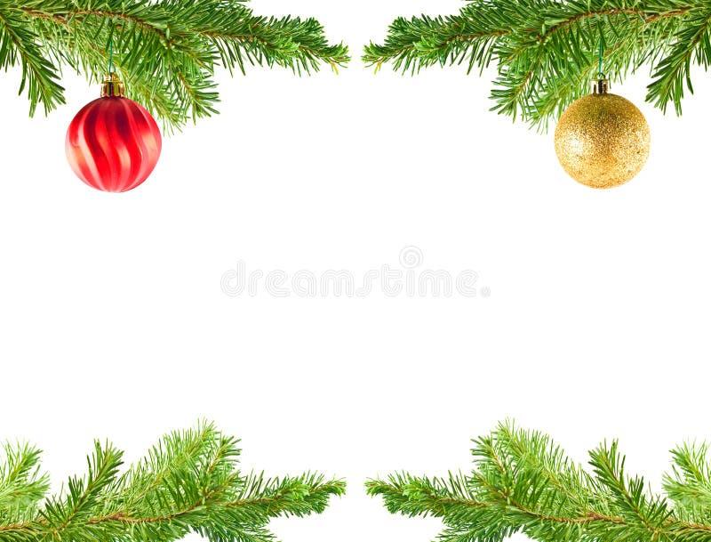Attaccatura dell'ornamento di festa dell'albero di Natale fotografia stock libera da diritti