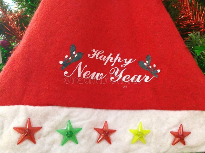 Attaccatura delle decorazioni di Natale immagini stock