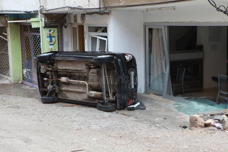 Attacco di bomba in Reyhanli, Hatay immagini stock