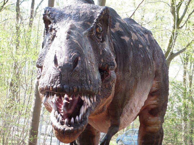 Attacco di Dino immagini stock libere da diritti
