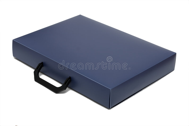Attache case, isolated royalty free stock photography