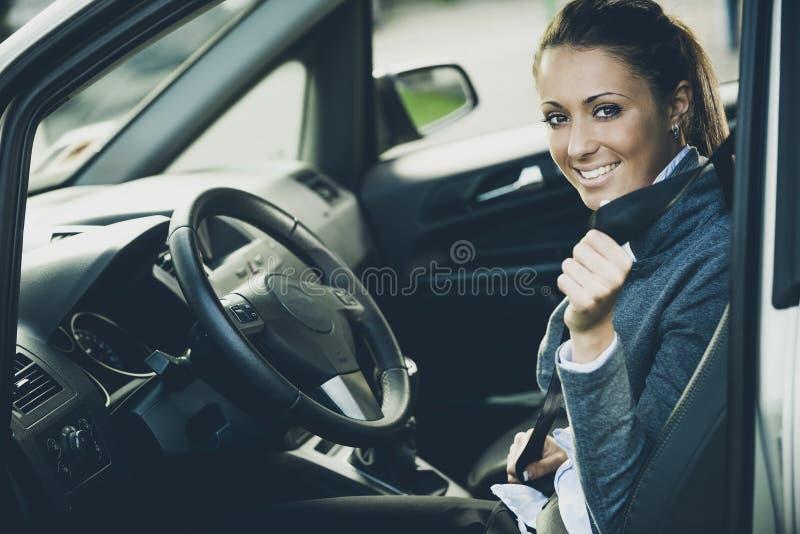 Attachez votre ceinture de sécurité photos stock