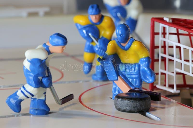 Ice hockey attack stock photos