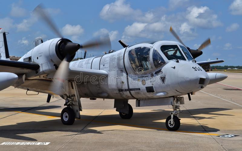 Attacknivå för Mohawk OV-1 arkivfoton