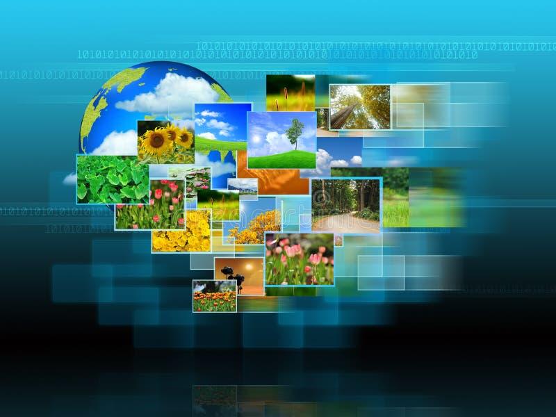 Atteinte de couler d'images illustration libre de droits
