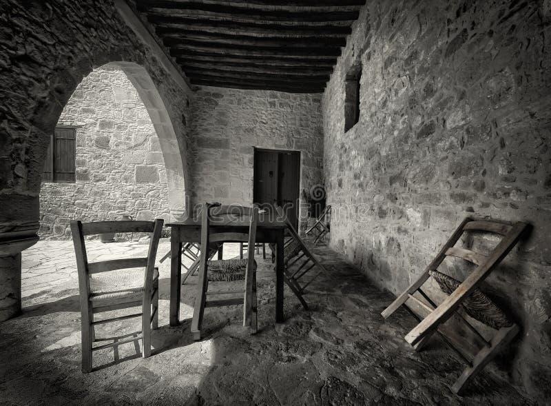 Attente de la sièste, la Chypre. photos stock