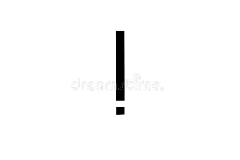 Attention warning sign black exclamation point vector illustration