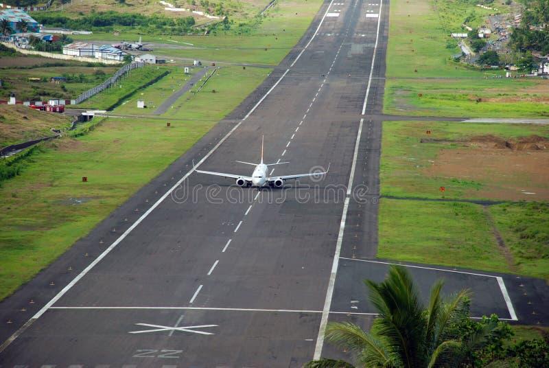 Atterraggio di volo fotografia stock libera da diritti