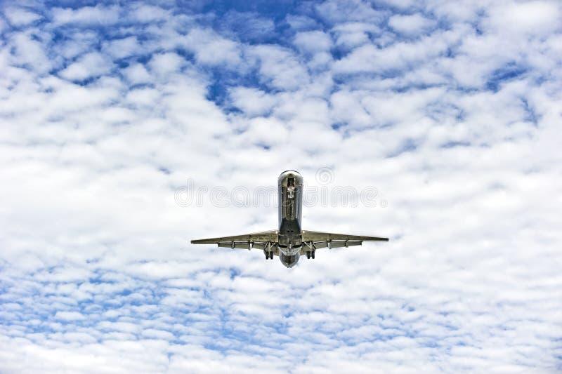 Atterrissage D Avion Image libre de droits