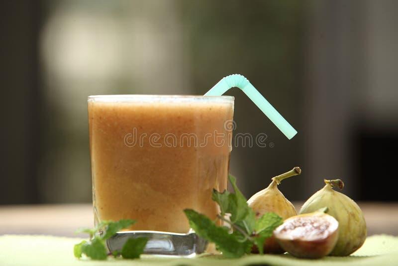 Atti-pazham Saft, Feigen-Fruchtsaft, Anjeer-Kasaft stockfotos