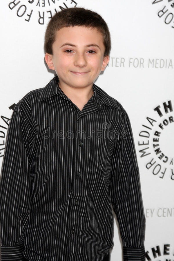 Atticus Shaffer stock foto