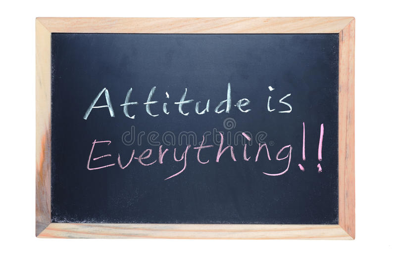 Download Attitude Is Everything Royalty Free Stock Images - Image: 26076539