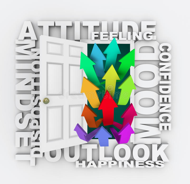 Download Attitude Word Door Mindset Emotion Mood Royalty Free Stock Photo - Image: 31479285