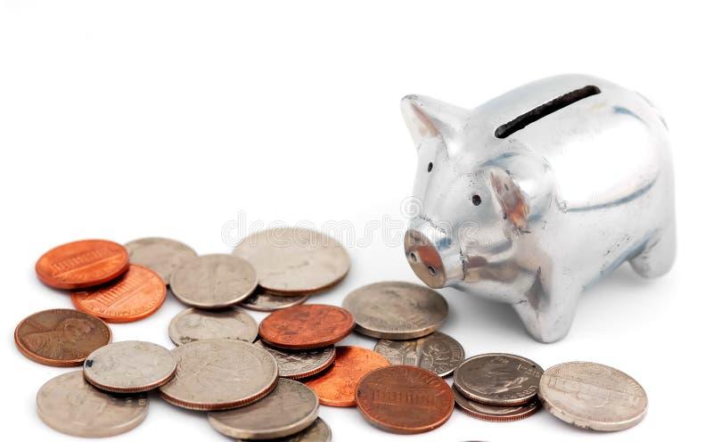 Attività bancarie immagine stock