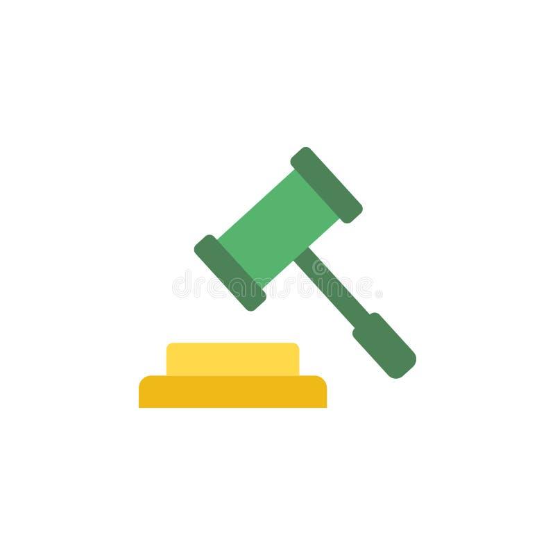 Attività bancarie, icona dell'asta Elemento dell'icona dei soldi e di attività bancarie di web per i apps mobili di web e di conc royalty illustrazione gratis