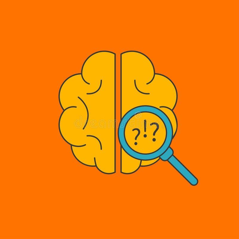 Attività di cervello, attività mentale royalty illustrazione gratis