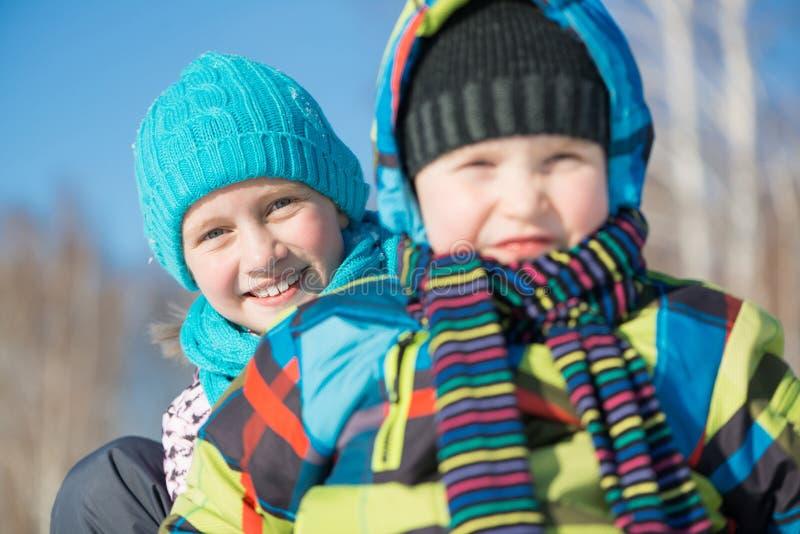 Attività di inverno immagine stock