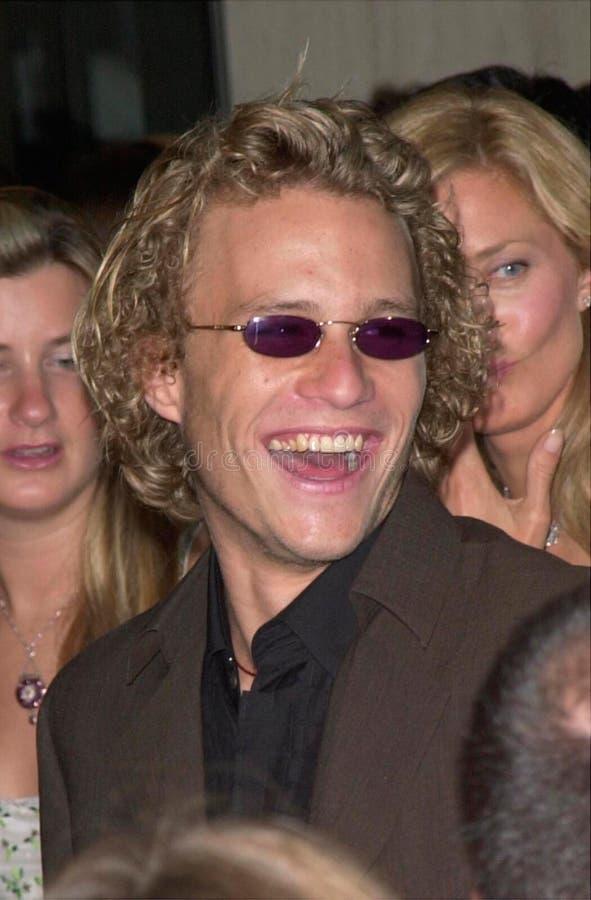 Heath Ledger fotografia stock libera da diritti