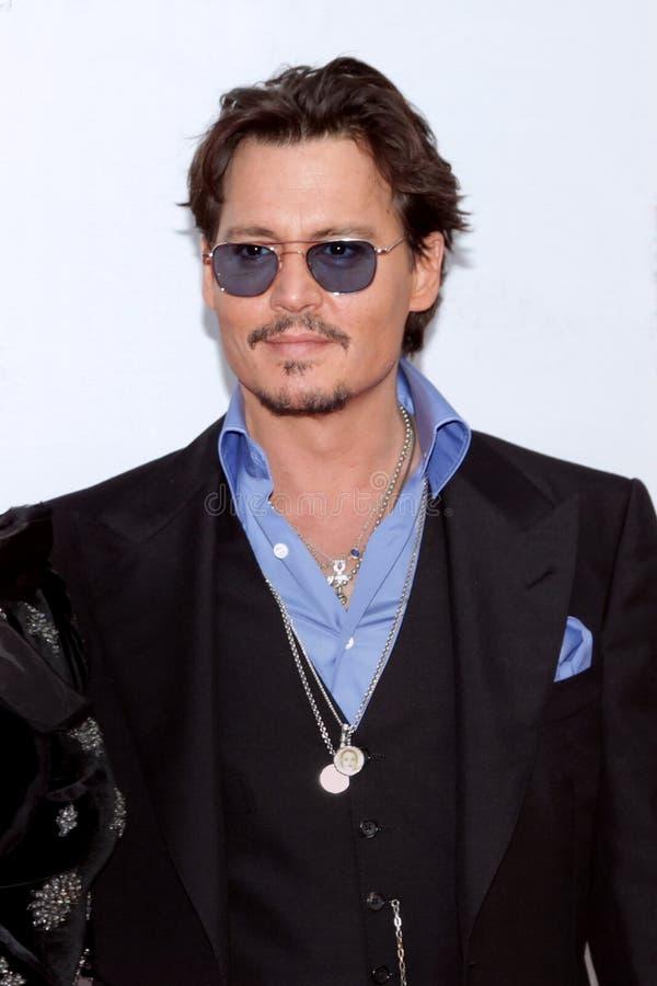 Attore Johnny Depp del ritratto immagini stock libere da diritti