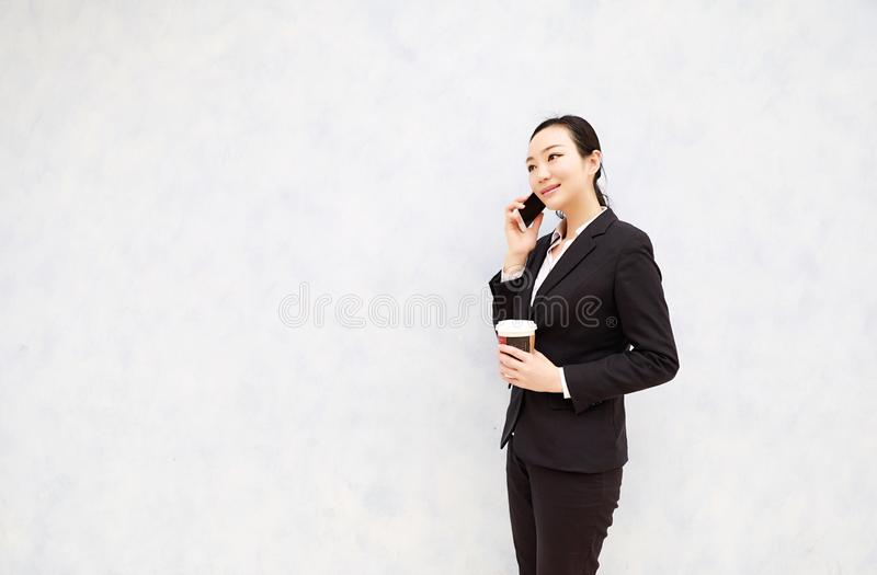 Attorney - young asian woman lawyer royalty free stock photos
