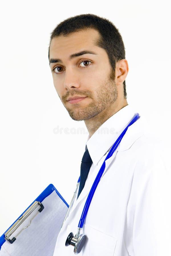 attracive医生年轻人 免版税库存图片