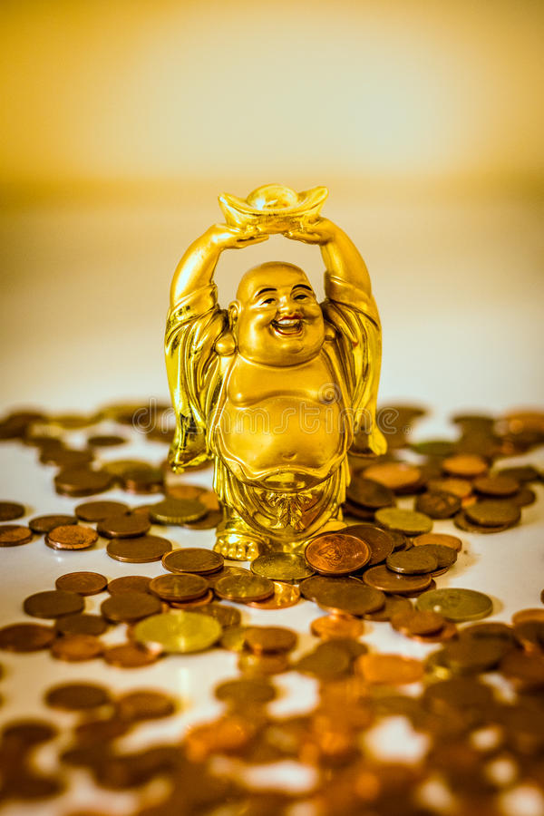 Attracting wealth royalty free stock photos