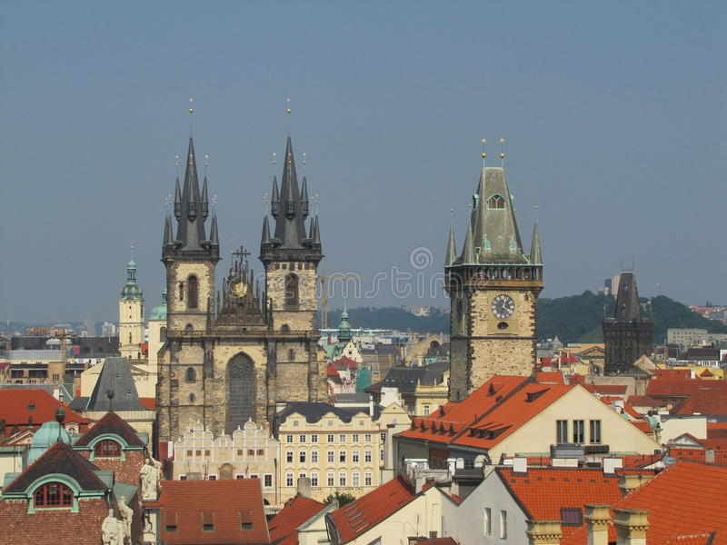 Attraction à Prague photos libres de droits