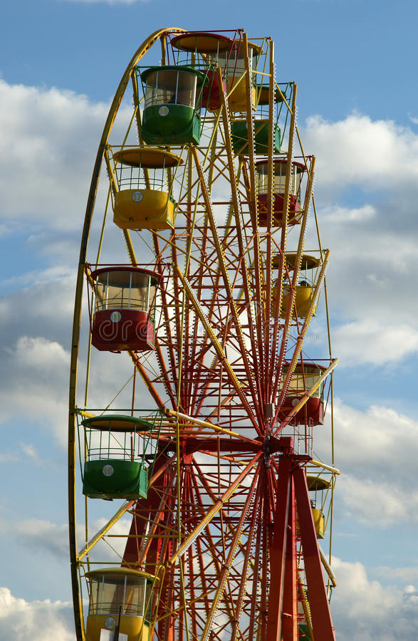 Download Attraction (Carousel) Ferris Wheel Stock Photo - Image of childhood, exhibition: 15928384