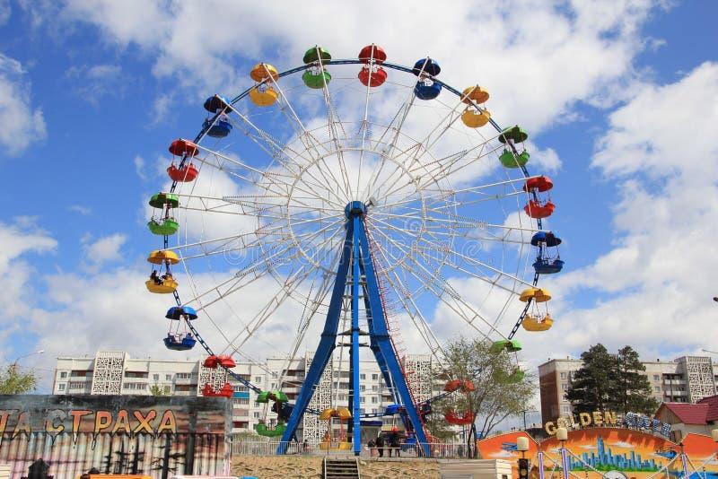 Attraction Ferris Wheel Stock Photos