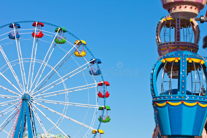 Download Attraction Ferris wheel stock photo. Image of giant, enjoyment - 23912468