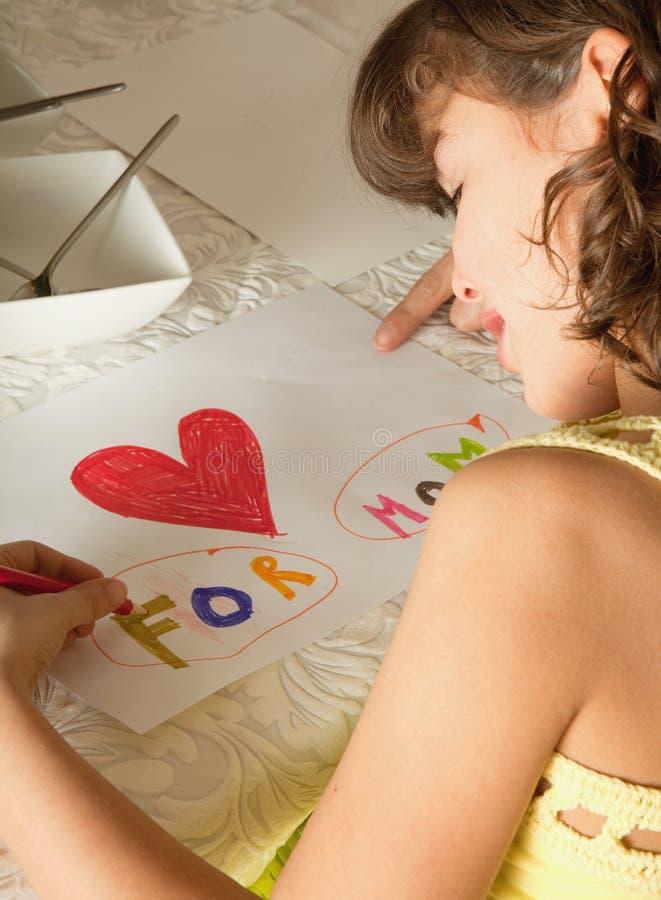 Attraction pour le jour de mère photo libre de droits