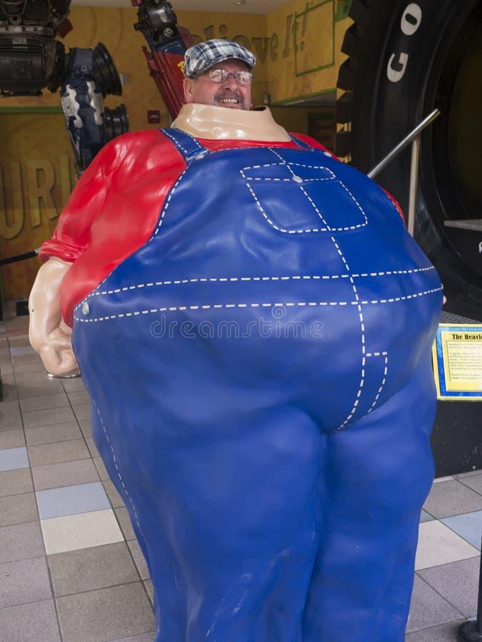 Attraction sur Main Street dans Gatlinburg une station de vacances au Tennessee Etats-Unis images stock