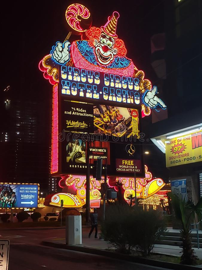 Attractions de Las Vegas image stock
