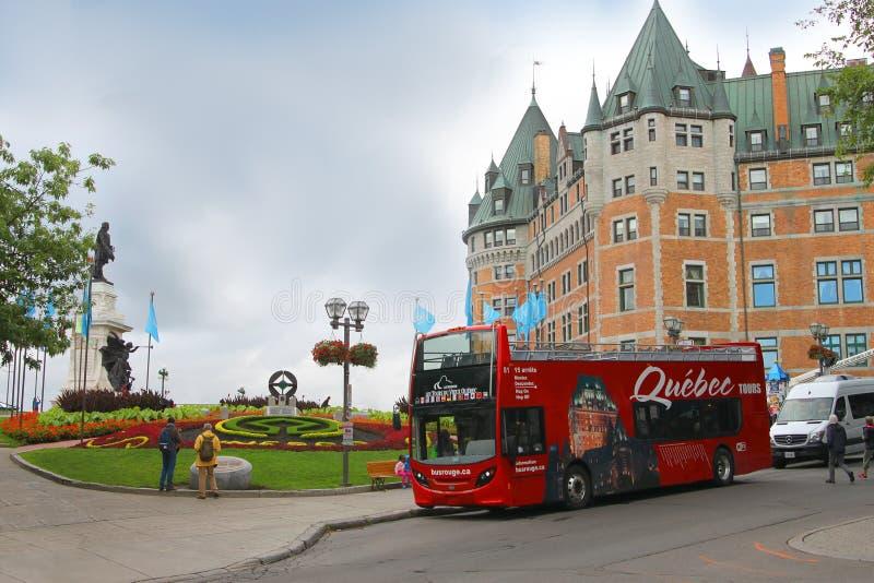 Attractions de Québec photo libre de droits