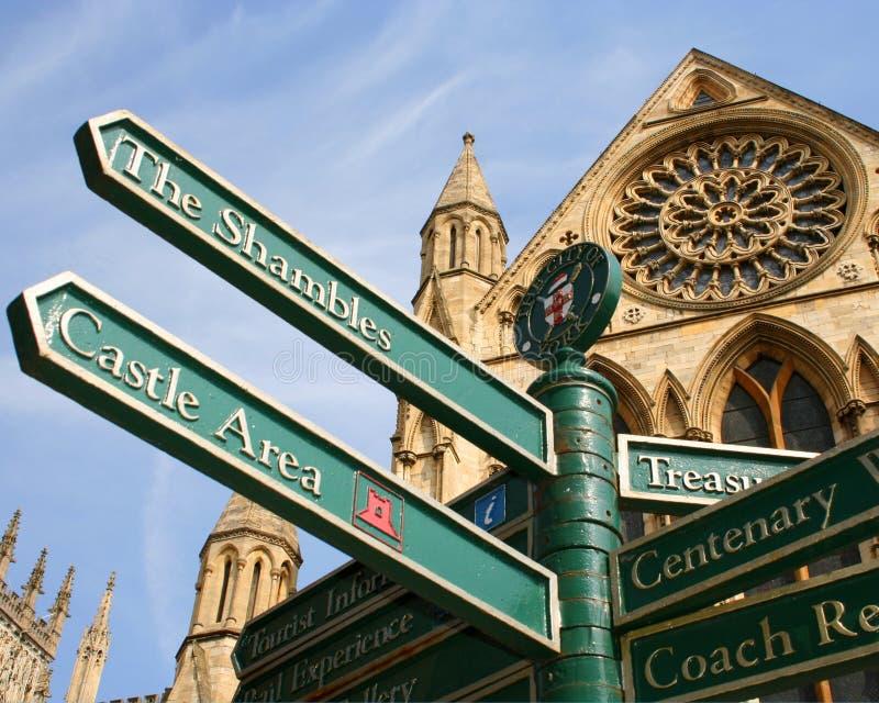 Attractions de ville de York images stock