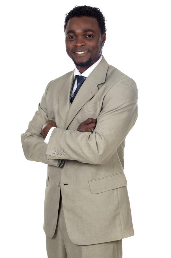 Attractive african businessman stock photos