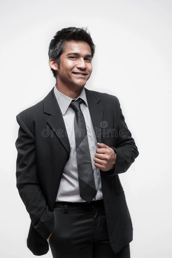 Free Attractive Asian Businessman 3 Stock Photo - 24017090