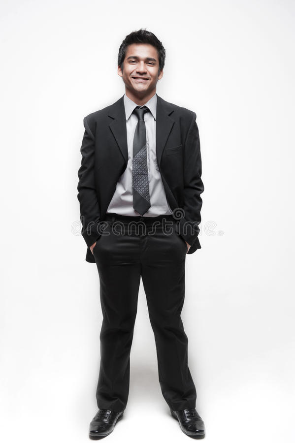 Free Attractive Asian Businessman 7 Royalty Free Stock Photography - 24017097