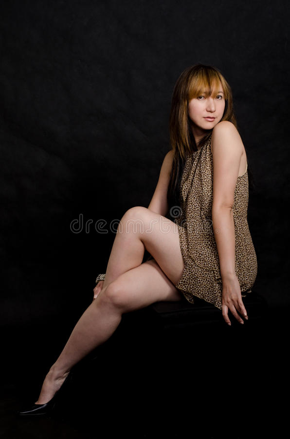 Attractive asian chinese forties woman
