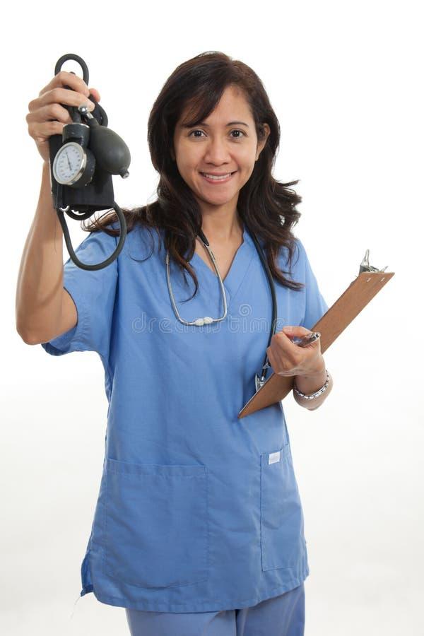 Download Attractive Asian Filipino Nurse Doctor Stock Image - Image: 20543565