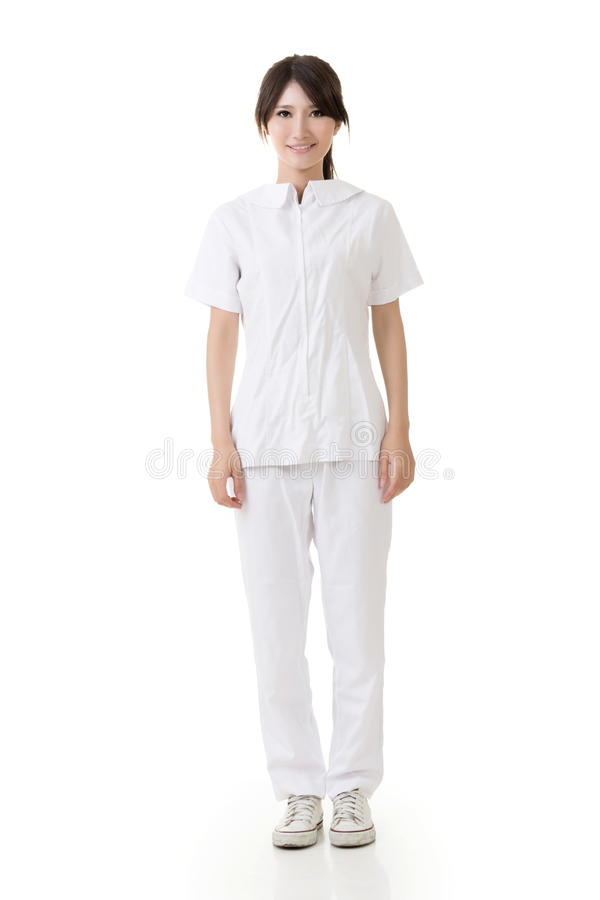 Free Attractive Asian Nurse Royalty Free Stock Image - 33036136